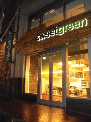 Real food is sweet at SweetGreen