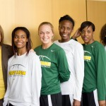 On April 17, Mason announced that Nyla Milleson would take the head coaching position for the women's basketball team. (JENNY KRASHIN/BROADSIDE)