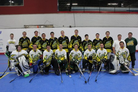 Coming off a win at their regional tournament, Mason's Inline Hockey team broke seed at Nationals in Fort Meyers, Fla. (PHOTO COURTESY OF INLINE HOCKEY CLUB)