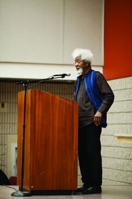 Nobel Prize winner speaks at International Week