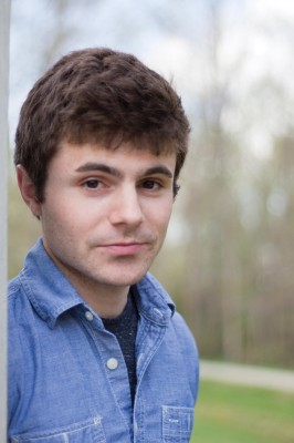 Senior Paul Laudiero attracted the attention of Huffington Post and now has secured a book deal through his Tumblr. (JENNY KRASHIN/BROADSIDE)