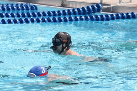 For the past two years the underwater hockey team has been placed in the A division of the National Tournament. (COURTESY OF TIMOTHY JORDAN)